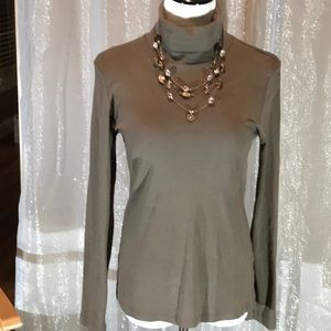 TAUPE TURTLE NECK